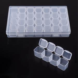 TOPINCN Plastic Jewelry Storage Organizer Box Container