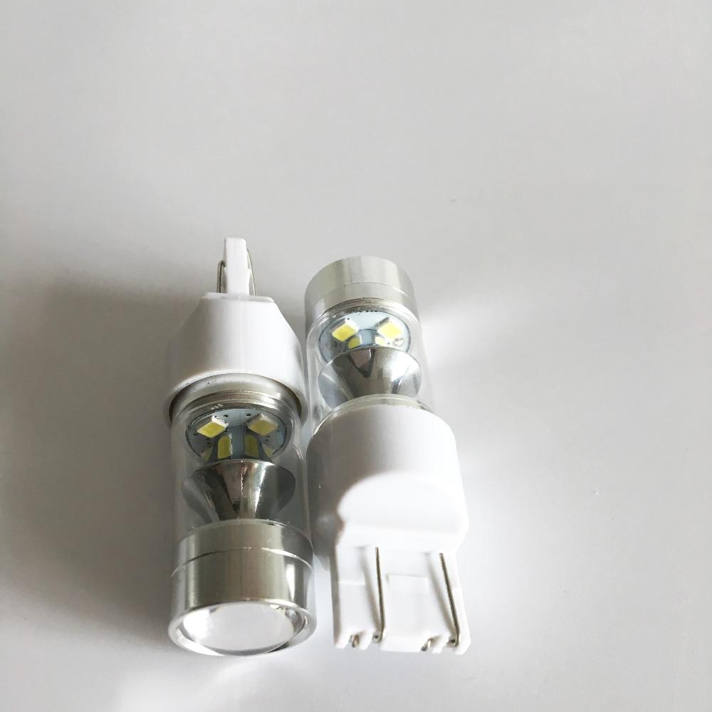 2x 7443 LED Drita e frenave të automjeteve 60W Dritat e kundërta - Dritat e makinave - Foto 3