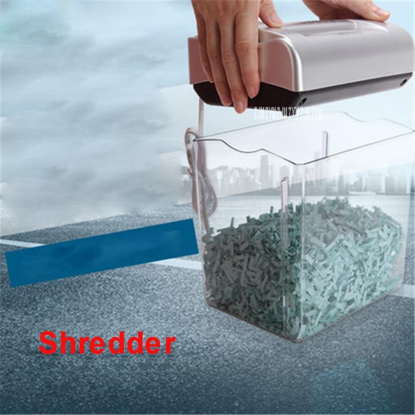 004CC Mini Electric Paper Shredder 4.5L Drum capacity Paper Broken home Machine Office Mute 220V/50hz Shredder 195W Power|electric paper shredder|paper shredder|mini paper shredder - title=