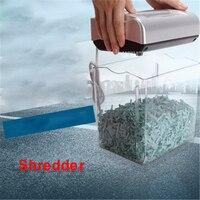 004CC Mini Electric Paper Shredder 4.5L Drum capacity Paper Broken home Machine Office Mute 220V/50hz Shredder 195W Power