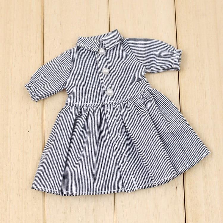 Neo Blythe Doll Grey Dress 1