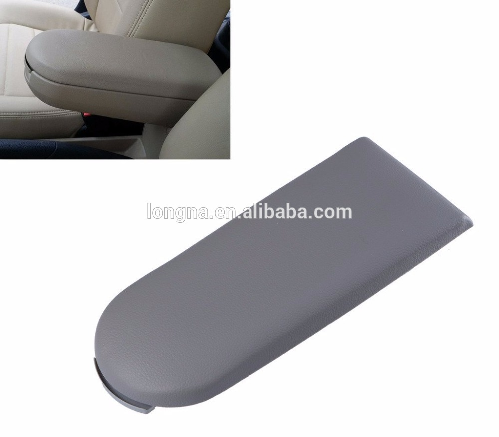 Grey Arm Rest Armrest Center Console Covers Caps For Vw Jetta Golf Mk4 Beetle