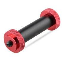 """Camvate 15mm micro haste v2 (2 polegadas) com 1/4 """" 20 rosqueamento masculino e em ambas as extremidades c1486"""