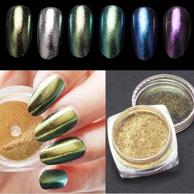 Enchanting Chrome Pigment Powder For Nails Gift - Nail Art Ideas ...