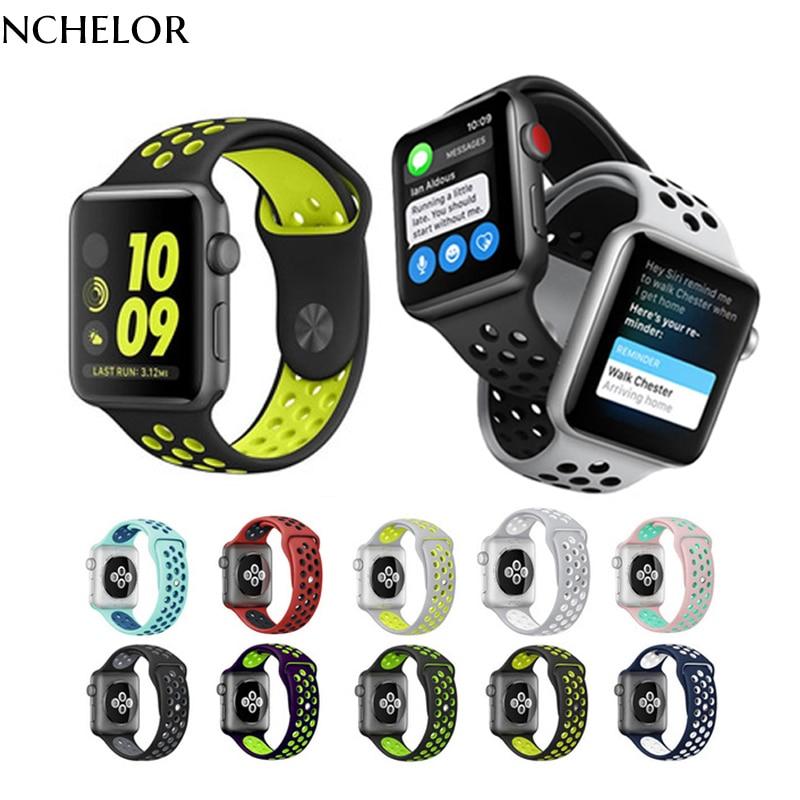 Brand Soft Silicon Sport Silicone Band Colorful wrist for