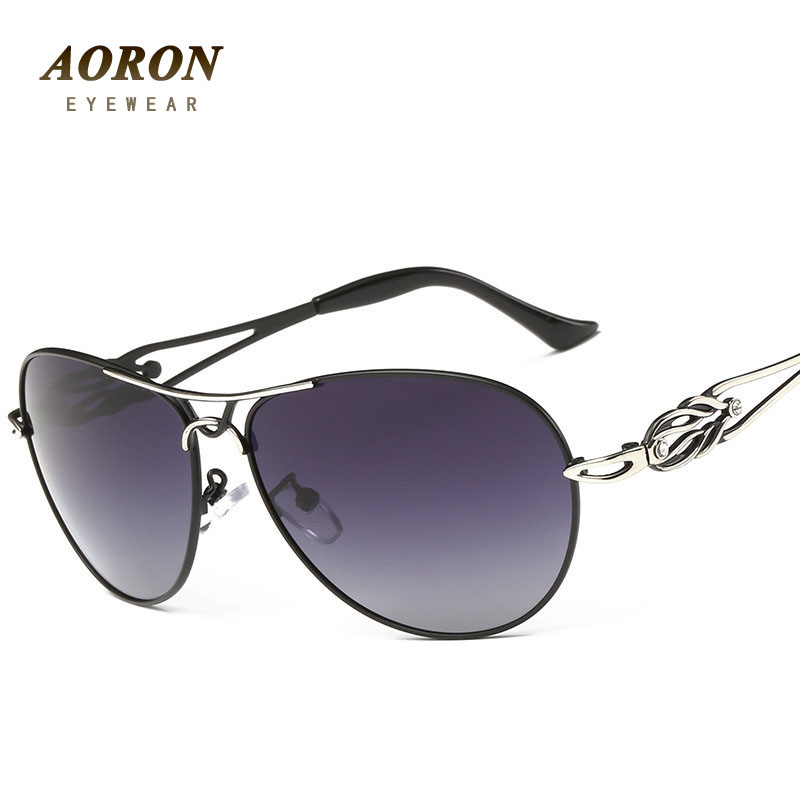 AORON Popular Women's Polarized Sunglasses Driving Sun Glasses for Lady Eyewear oculos de sol Top Grade Fashion Designer