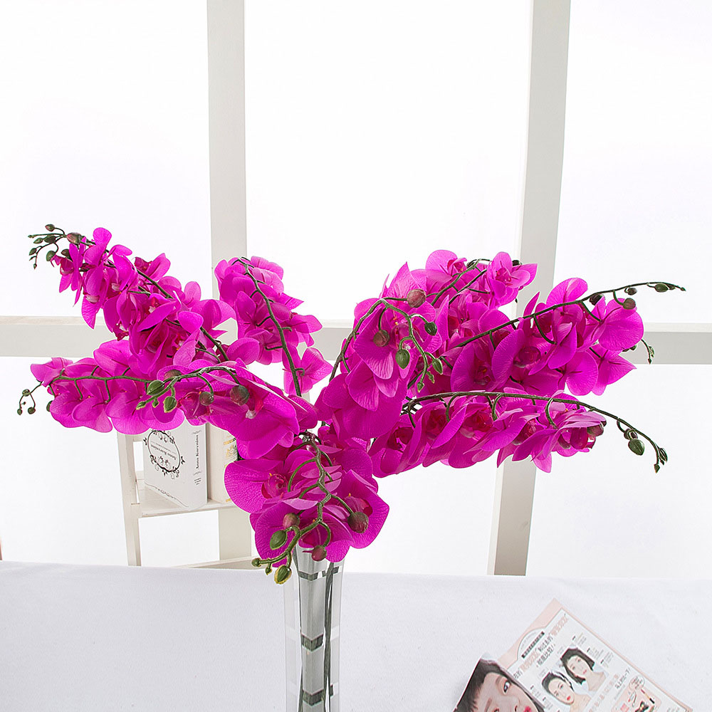 10pcs Home Decorative Real Touch Artificial Flower Japanese Silk