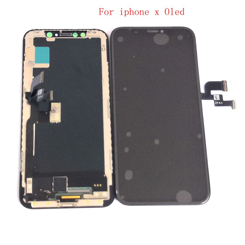 Oled / TFT For <font><b>Iphone</b></font> X Lcd Screen Display+Touch Glass Digitizer Assembly Replacement Parts A1901 A1902 A1903 <font><b>A1865</b></font> for iphonex image