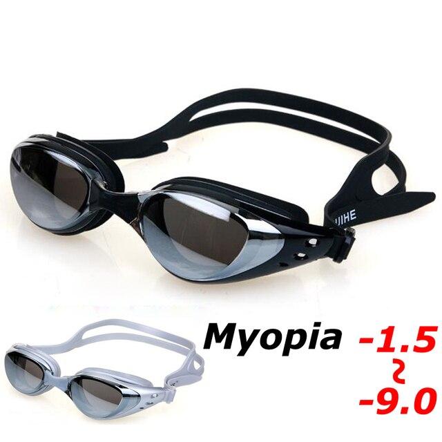 58bb43edb38 Best Offers Professional Underwater Myopia Swim Eyewear Waterproof Anti Fog  UV Protection Goggles Swimming Pool Water