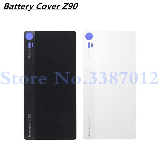 size 40 d0aab c66e4 US $3.78 5% OFF Back Glass Rear Cover For Lenovo Z90 Z90 3 Z90 7 Z90a40  Battery Door Housing Battery back cover For Lenovo Vibe Shot Z90-in Mobile  ...