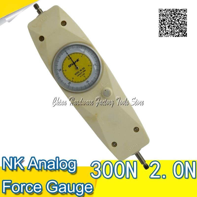 SHAHE Pointer push voltage meter NK-300 dynamometer new measurement tool power meter casio g shock gravitymaster gw 3000m 4a