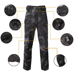 Image 5 - Mege Knight Band Clothing Tactical Camouflage Military Pants Men Rip stop SWAT Soldier Combat Trousers Militar Work Army Outfit