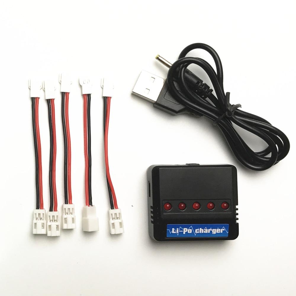 Syma X5c Jst Enchufe Li-Polímero Cargador de Batería Alambre Cable Hubsan H107