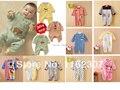 Детские комбинезоны новорожденный детские комбинезоны дети пижамы длинный рукав детское нижнее белье одежда