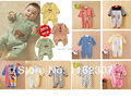 Free shipping High quality Baby rompers newborn baby rompers children pajamas cheap price long sleeve baby underwear clothes
