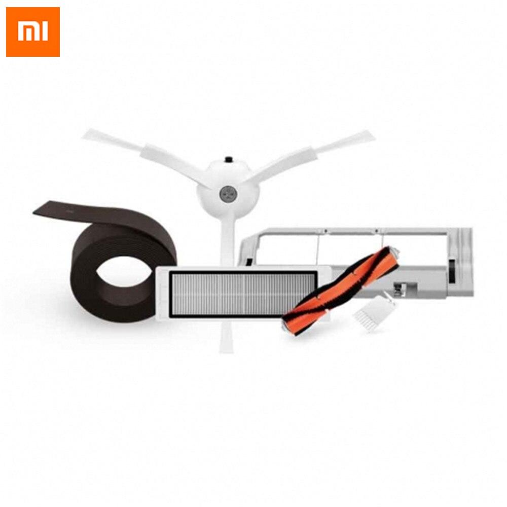 Xiaomi Roboter-staubsauger Teil Zubehör Reinigung Ersatzteile Kits Wichtigsten Pinsel/Seitenbesen/HEPA-Filter/Reinigung werkzeug Ersetzen