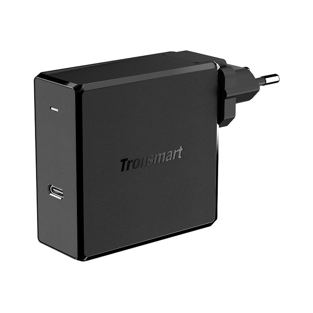 Tronsmart WCP02 настенное зарядное устройство питания 3,0 Беспроводное зарядное устройство 60 Вт Быстрая зарядка зарядное устройство для телефона MacBook зарядное устройство для ноутбука - Тип штекера: Европейский Союз (ЕС)