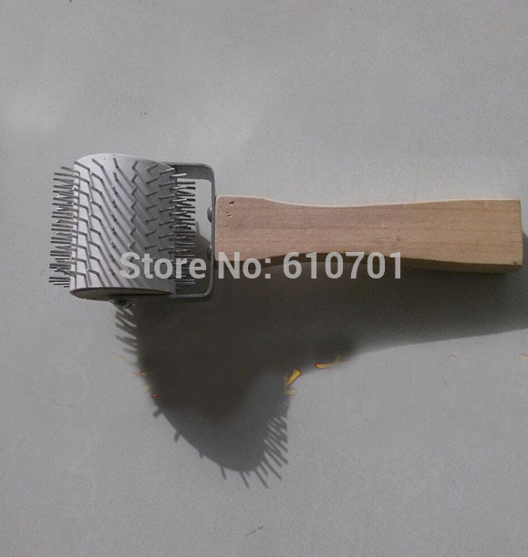 1PCS Uncapping honeycombs extracting Needle Roller Beekeeping tool 1pc plastic uncapping needle roller bee honey extractor tool 29 5cm length for beekeeping equipment