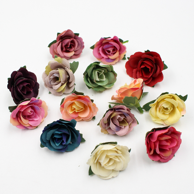 20pcslot 35cm mini silk rose head artificial flowers wedding home 20pcslot 35cm mini silk rose head artificial flowers wedding home decoration diy flower mightylinksfo