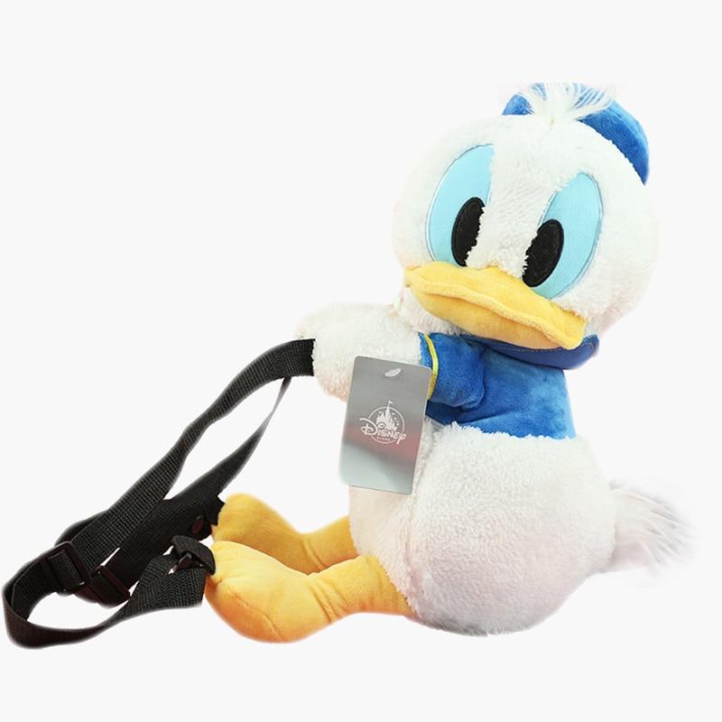 Donald Duck  Plush Backpacks Cute  Stuffed Animals Toys Girls Backpack School Bag Toy