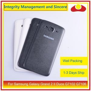 Image 5 - 10 pçs/lote para samsung galaxy grand 2 ii duos g7102 g7106 habitação porta da bateria traseira capa caso chassi escudo substituição