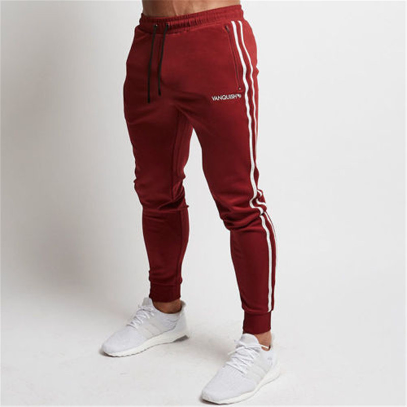 Men's Sport Pants Long Trousers Fitness Workout Joggers Gym Sweatpants mens workout sweatpants slim fit sporting male breathable joggers men running pants long gym pants sports 2018 fitness
