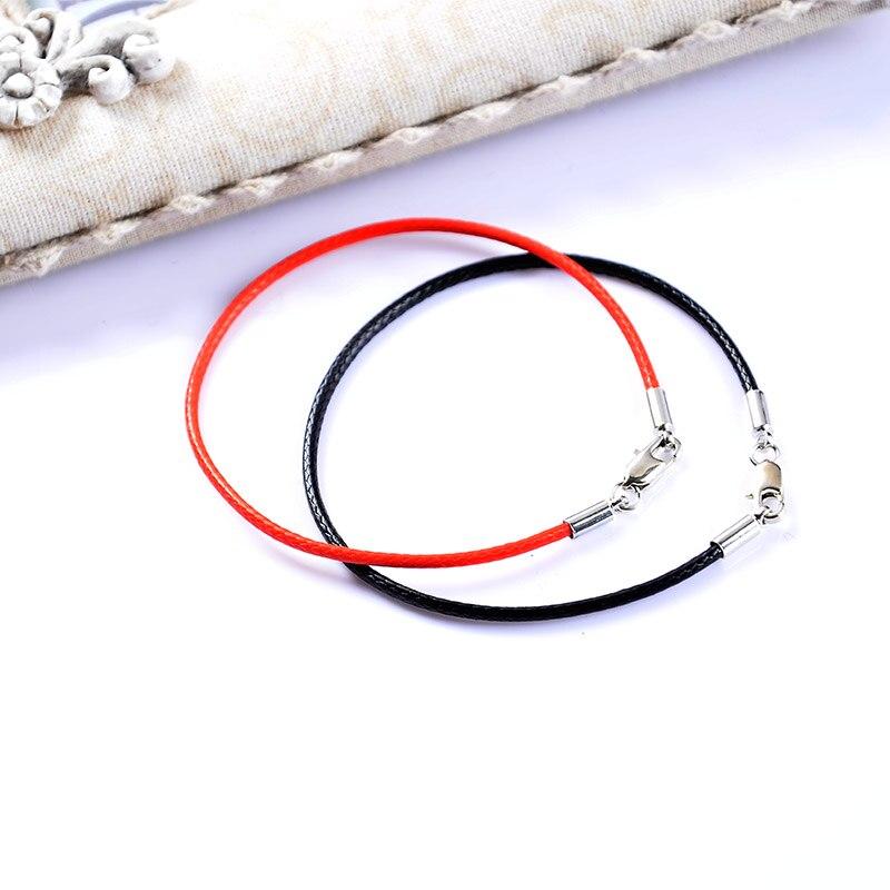 Μόδα κλασικό σχοινί σχοινί μαύρο - Κοσμήματα μόδας - Φωτογραφία 5