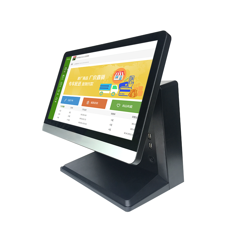 15 Inch Industrial Touch Screen All In One Pc / POS / Computer / Windows8 Tablet