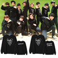 Seventeen black woman Kpop cotton Unisex fashion man hoodies June CARATJEONGHAN Seventeen17 K-pop seventeen 17 Hoodies