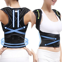 Breathable Posture Corrector Back Lumbar Clavicle Shoulder Waist Aluminum Support New style HKJD F001