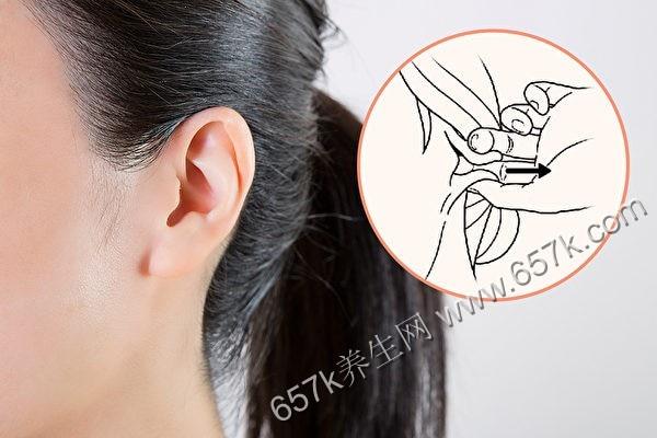捏捏耳朵 改善更年期障碍 医师的更年期保养法