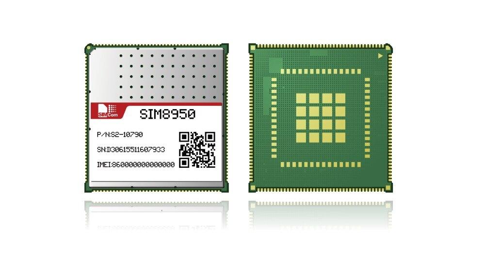 SIMCOM SIM8950 nouveau et Original module intelligent LGA android 7.0 GPS LTE 4G 8 core 2 GB RAM + 16 GB ROM pour smart POS pile de charge intelligente
