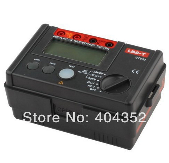 Electrical Equipment UNI-T UT502 Megger Multi-function Insulation Resistance Tester delta power equipment corporation 36 502 dado throat plate