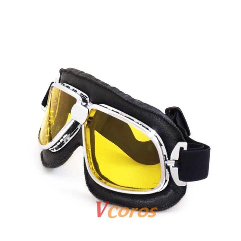 0b3782683a Vcoros venta caliente estilo retro para harley moto gafas steampunk gafas  de sol deportivas al aire libre a prueba de polvo utilizado eyewear de los  vidrios ...