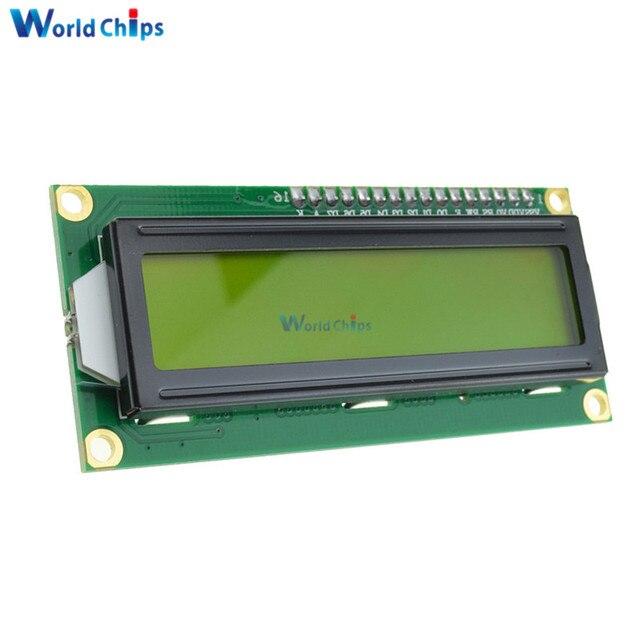 LCD1602 1602 LCD HD44780 Screen Character LCD Display Yellow Blacklight TFT 16X2 LCD Module DC 5V