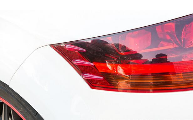 12x Universal Car Spoiler Reduce Noise Anticollision Strip Headlights Taillights