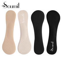 Soumit 2 Pair Flannel Gel Insoles For Women High heels Shoes 3/4 Non-slip Orthopedic Arch Support Pad Metatarsal Cushion Inserts