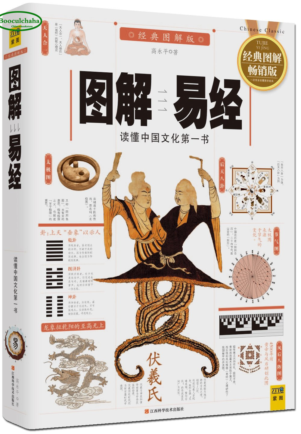 Illustration of the Book of Changes Master Chinese traditional culture book classic Philosophy divination fengshui entry