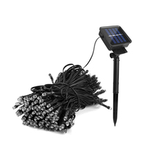 1Set 7M 12M 22M Outdoor Waterproof IP65 LED Solar Lamps String Light Sensor Garden Lighting for Holiday Decor