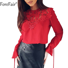 397f0403afb5 Compra lace bow black white blouse y disfruta del envío gratuito en ...