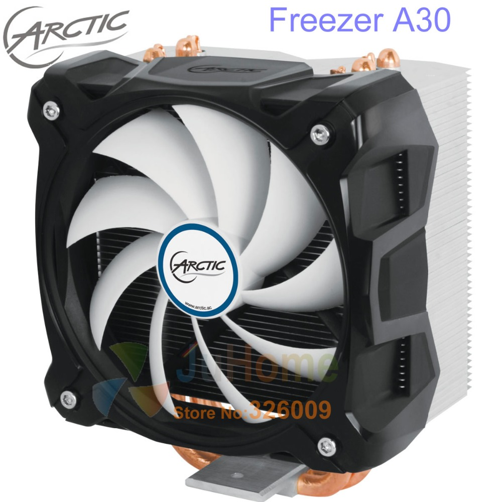 Original ARCTIC Freezer A30, 4pin PWM 120mm fan, max 320W for AMD AM2 AM2+ AM3 AM3+ FM1 FM2+, CPU cooler fan cooling radiator akasa cooling fan 120mm pc cpu cooler 4pin pwm 12v cooling fans 4 copper heatpipe radiator for intel lga775 1136 for amd am2
