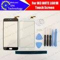 Tela de toque meizu m3 note 100% original painel de digitador de vidro substituição conjunto da tela para meizu m3 note l681h telefone celular + ferramentas