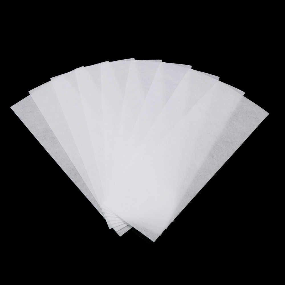 80 ADET Kadın Epilasyon Tüy Dökücü Nonwoven Epilatör Kadınlar Vücut Yüz balmumu şerit kağıt rulosu Ağda Tıraş Aracı 4.8