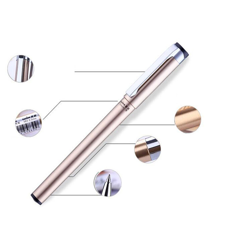 1 Brand Plastic Pencils Luxury Ballpoint Pen Business Writing Gifts Office Supplies 0.5mm