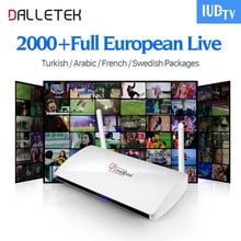 Dalletektv Leadcool Streaming IPTV TV Box Android TV Box IPTV Canales Turcos Francés Portugal Italia Europa IPTV Árabe Caja Superior
