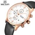 Megir Men Chronograph Watch Men's Watch Top Brand Luxury Clock Date Quartz Casual Sport Watch Men Wrist watch Relogio Masculino