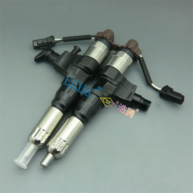 23670-E0050 ERIKC Inyector 6353 הזרקת מסילה משותפת מקורית 095000-6353 דיזל הזרקת דלק סט 0950006353 לhino