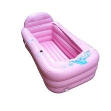 creative household adult Spa folding Portable bathtub thickening thermal adult folding inflatable bathtub