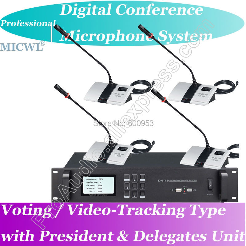 Top Ranking Pro Voting Video tracking Teleconference