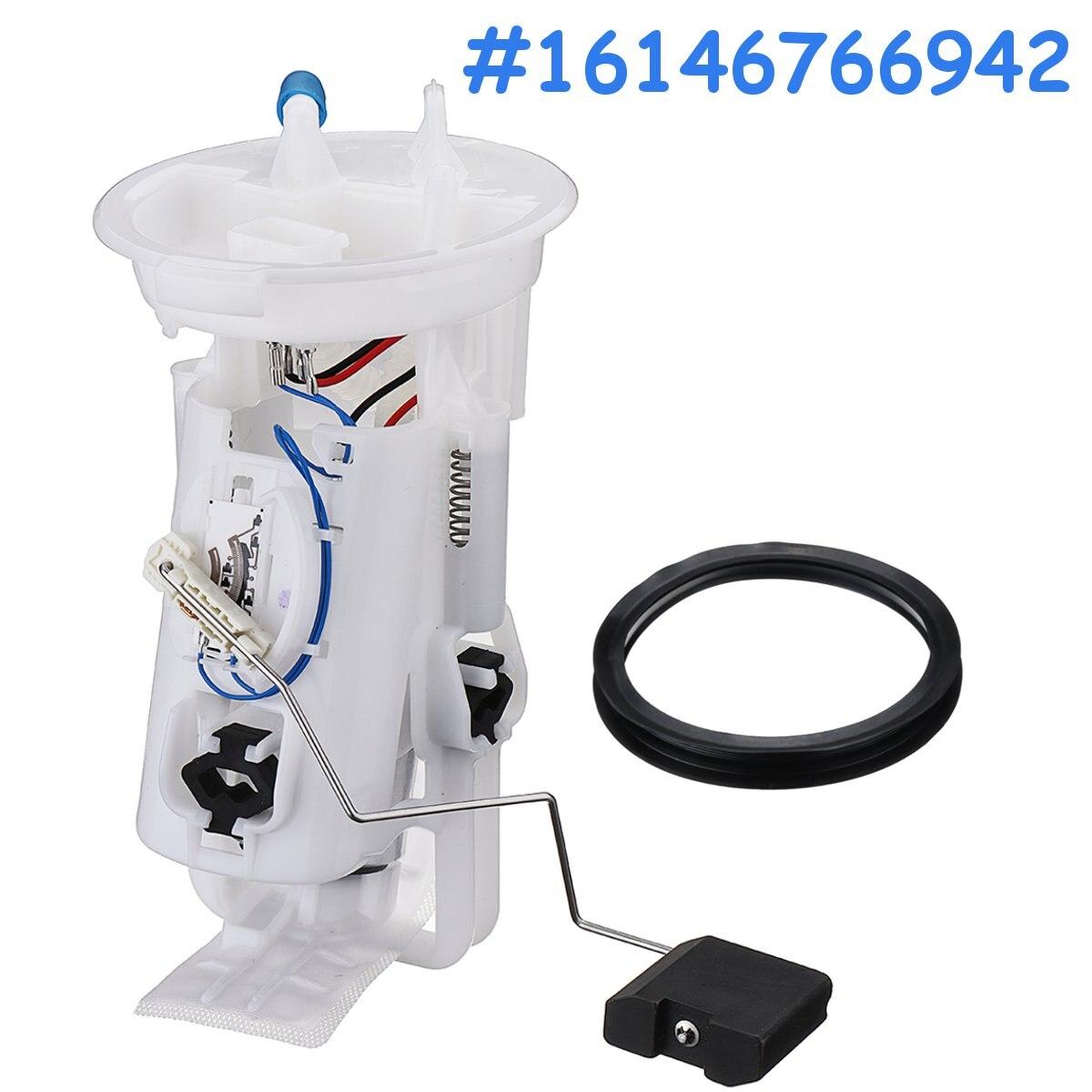 Car Fuel Pump + Sending Unit Module For BMW E46 3 Series 316i 318i 320i 323i 325i L6 6 Cyl #16146766942 bmw genuine fuel pump pre supply pump in tank suction device for 318i 325e 325i m3